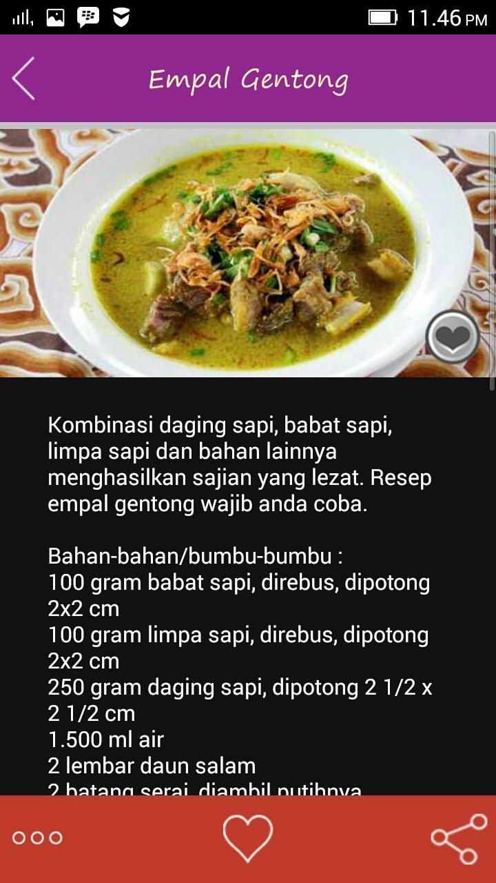 Resep Daging Sapi For Android Apk Download