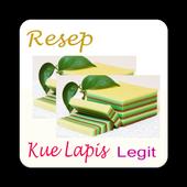 Resep Kue Lapis Legit icon