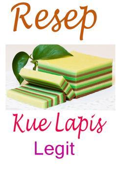 Resep Kue Lapis Legit poster