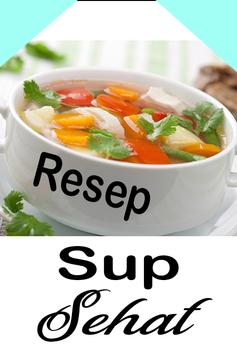 Resep Sup Sehat poster