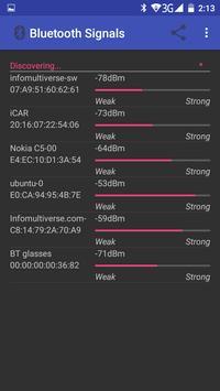 Bluetooth Signal Meter screenshot 2