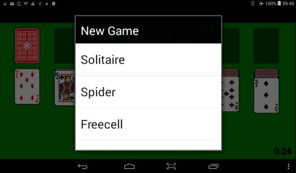 Solitaire screenshot 2