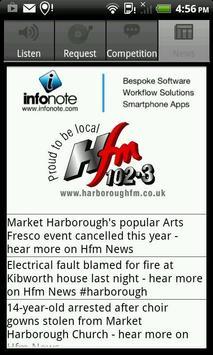 Harborough FM screenshot 1