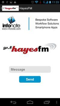 Hayes FM Radio apk screenshot
