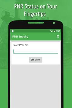 PNR & Running Status poster