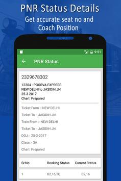 PNR & Running Status screenshot 1