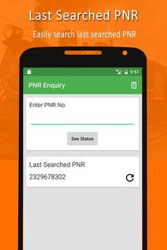 PNR & Running Status screenshot 2