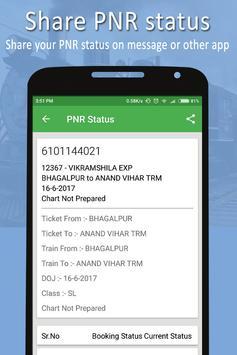 PNR & Running Status screenshot 5