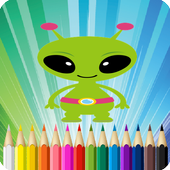 Alien Coloring Book For Me icon