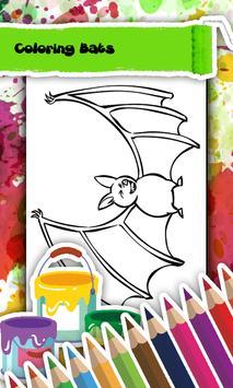 Bat Coloring Book screenshot 2