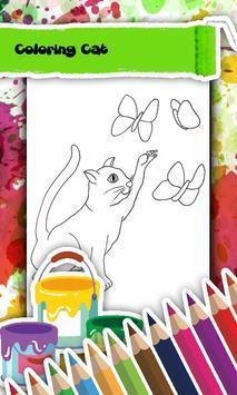 Cat Coloring Book screenshot 1