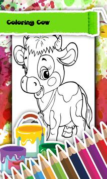 Cow Coloring Book poster