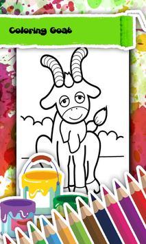 Goat Coloring Book screenshot 1