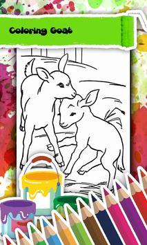 Goat Coloring Book screenshot 2