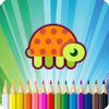 Turtle Coloring Book simgesi