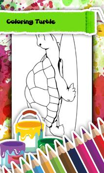 Turtle Coloring Book 스크린샷 2