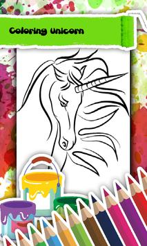 Unicorn Coloring Book screenshot 1