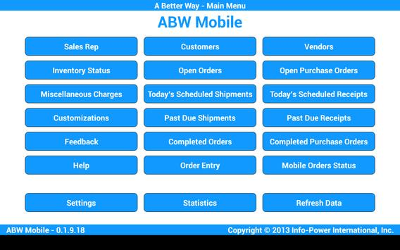 ABW Mobile poster