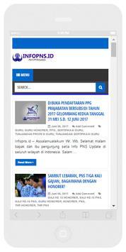 Info PNS Update poster