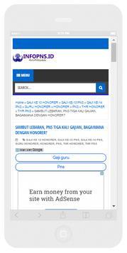 Info PNS Update apk screenshot