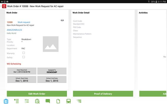 Infor EAM Android Mobile for Transit screenshot 12