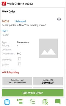 Infor EAM Android Mobile for Transit screenshot 2