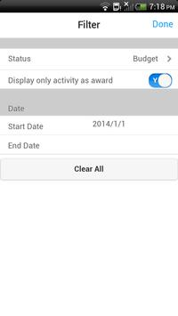 Infor Lawson Mobile Projects apk screenshot