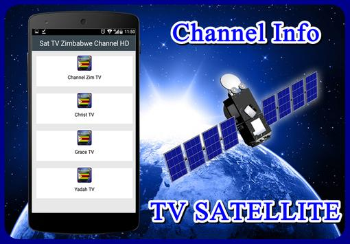 Sat TV Zimbabwe Channel HD poster