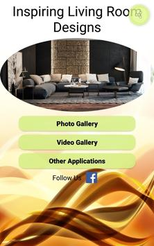 Inspiring Living Room Designs poster