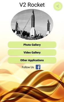 V2 Rocket poster