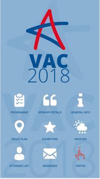 VAC 2018 poster