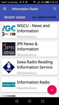 Information Radio screenshot 3