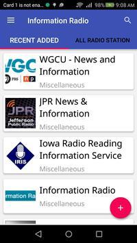 Information Radio poster