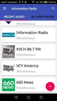 Information Radio screenshot 2