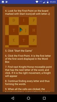 Knight's Word Ride apk screenshot