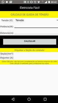 Dimensionamento Elétrico - Eletricista Fácil screenshot 2