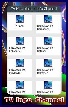Channel TV Kazakhstan Info poster