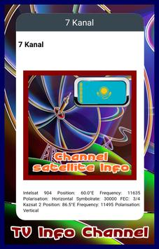 Channel TV Kazakhstan Info screenshot 1