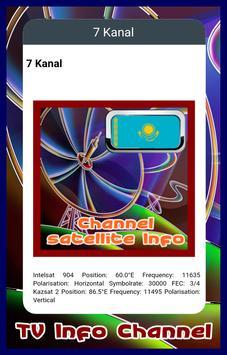 Channel TV Kazakhstan Info apk screenshot