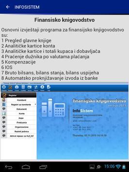 Infosistem apk screenshot