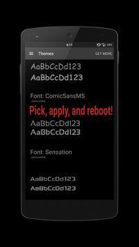 Rhyder - Font CM12 apk screenshot