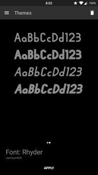 Rhyder - Font CM12 poster