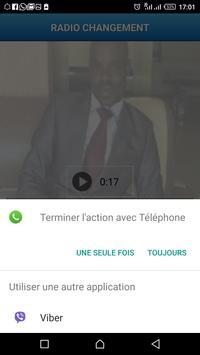 Radio Télévision CHANGEMENT Togo screenshot 3