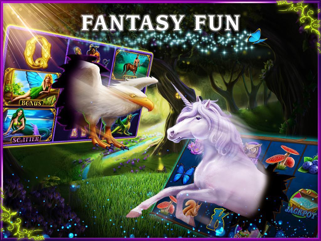Unicorn Slots poster