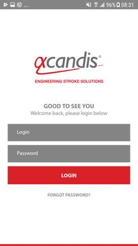 Acandis App poster