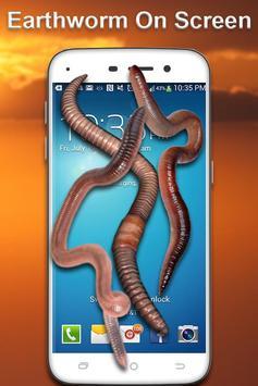 Earthworm on screen screenshot 1