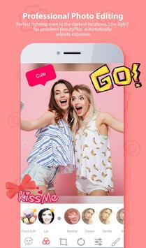 Selfie Camera Beauty - Filter & Photo Editor ❤ apk screenshot