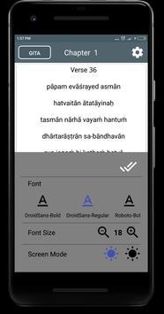 Bhagavad gita in English apk screenshot