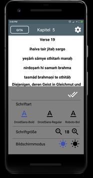 Bhagavad gita in Germanian apk screenshot