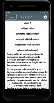 Bhagavad gita in Spanish screenshot 2